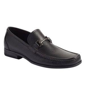 Salvatore Ferragamo Calf Leather Driving Loafer